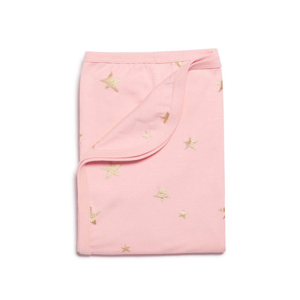 PINK STAR BRIGHT   BUNNYRUG