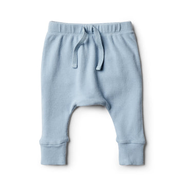 Dusty Blue Slouch Pant