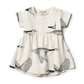 Organic Lets Fly Away Dress - Wilson and Frenchy