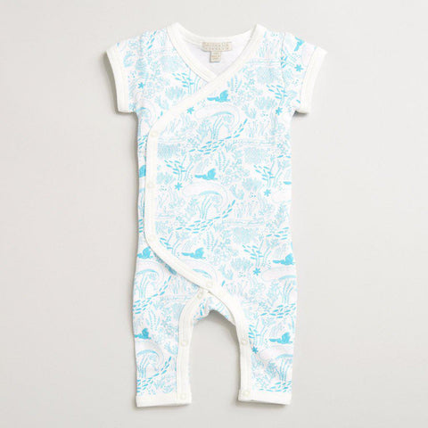 Under the sea kimono growsuit