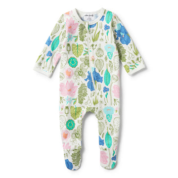 FLORA LONG SLEEVE ZIPSUIT-ZIPSUIT-Wilson and Frenchy