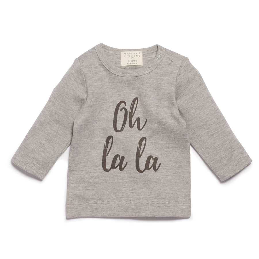 OH LA LA LONG SLEEVE TOP - Wilson and Frenchy