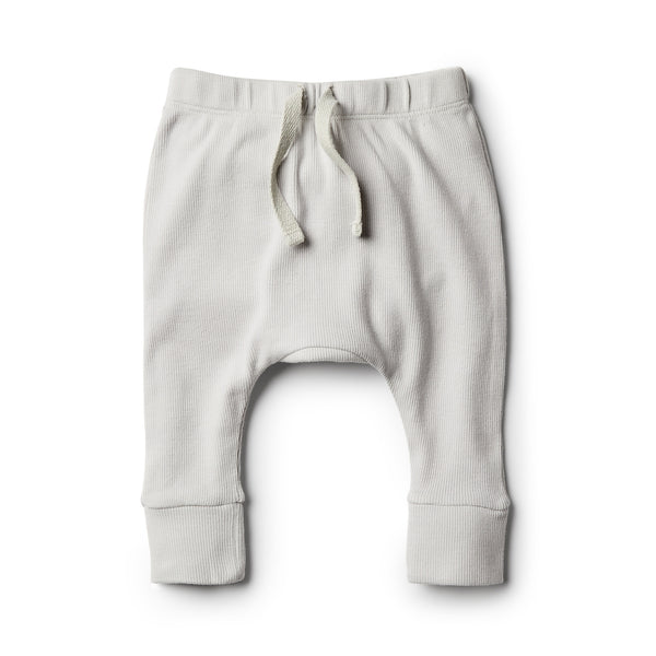 Glacier Grey Slouch Pant - Wilson and Frenchy