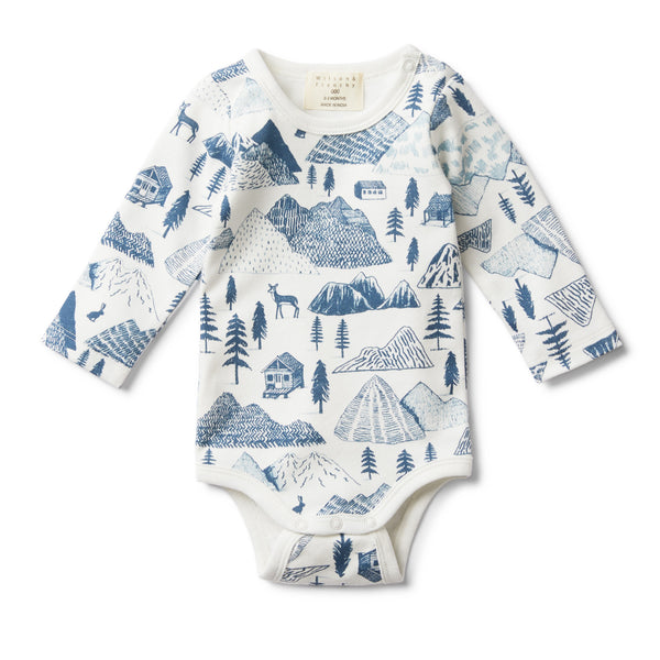 THE HILLS LONG SLEEVE BODYSUIT - Wilson and Frenchy