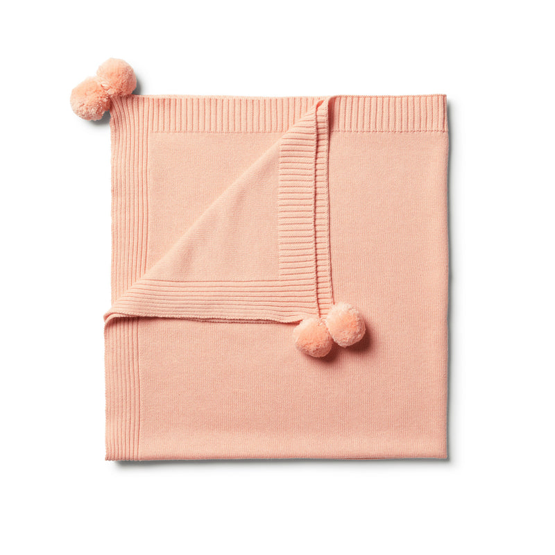 Tropical Peach Blanket - Wilson and Frenchy