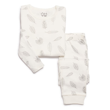 cb4c24c072 TINY LEAF PYJAMA SET-KIDS SLEEPWEAR-Wilson and Frenchy