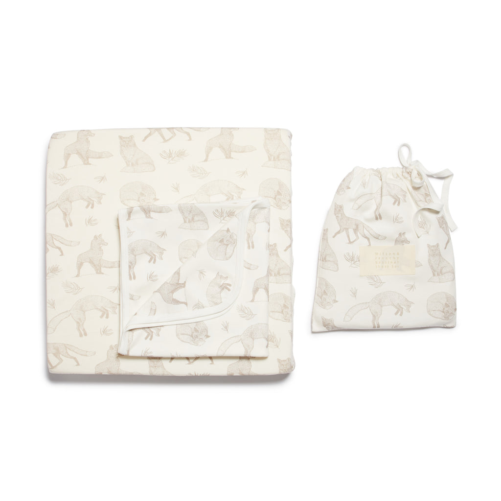 FOXY BASSINET SHEET SET
