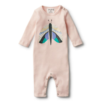ORGANIC FLUTTER BY RIB GROWSUIT
