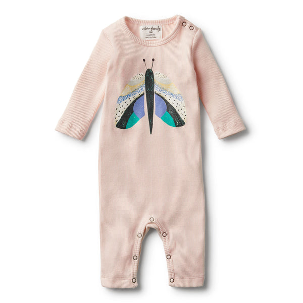 ORGANIC FLUTTER BY RIB GROWSUIT - Wilson and Frenchy