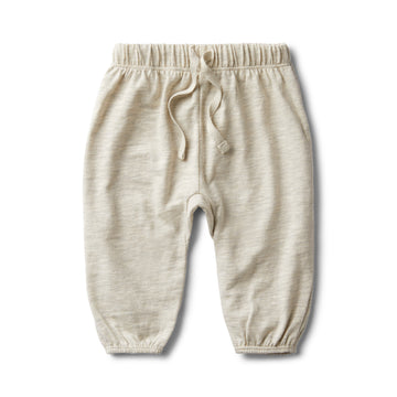 GREY FLECK SLOUCH PANT - Wilson and Frenchy