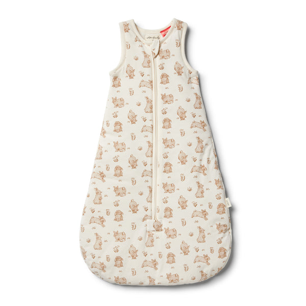 Organic Little Hop Sleeping Bag - Wilson and Frenchy