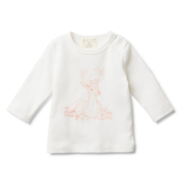 LITTLE DEAR LONG SLEEVE TOP - Wilson and Frenchy