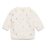 LITTLE POLKADOT KNITTED JUMPER - Wilson and Frenchy