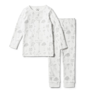 ORGANIC WILD MUSHROOM PYJAMA SET - Wilson and Frenchy