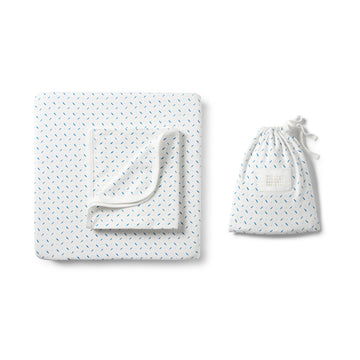 DROPLET BASSINET SET-BASSINET SHEET SET-Wilson and Frenchy