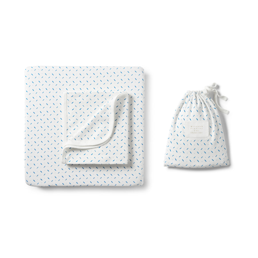 DROPLET COT SET - Wilson and Frenchy