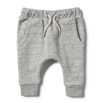 GREY FLECK TERRY PANT - Wilson and Frenchy
