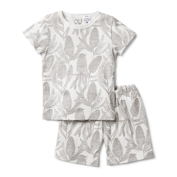 BANKSIA SHORT SLEEVE PYJAMA SET - Wilson and Frenchy