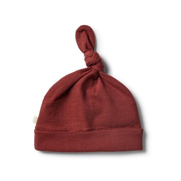 Chilli Knot Hat - Wilson and Frenchy