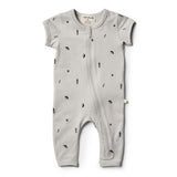 Organic Moonstone Zipsuit - Wilson and Frenchy