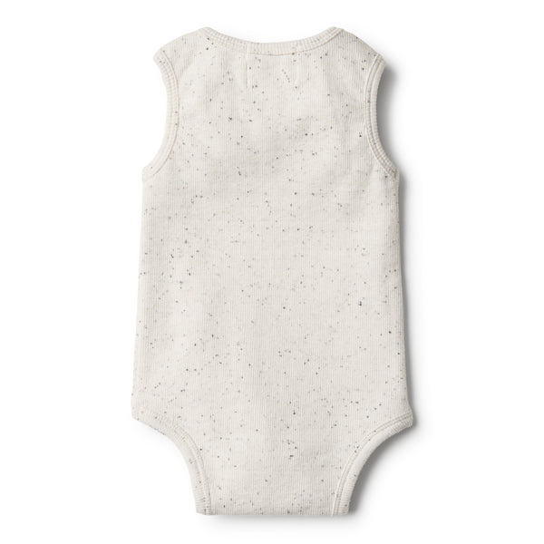Fleck Bodysuit with Ruffle - Wilson and Frenchy