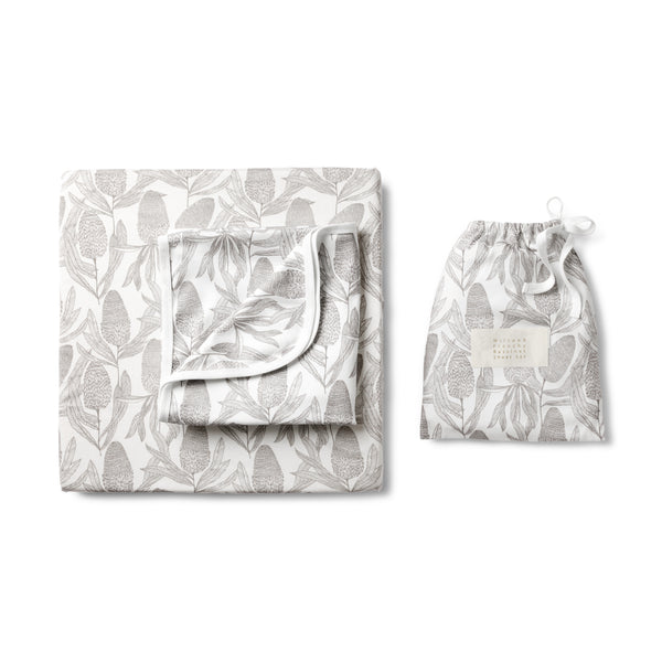 BANKSIA COT SHEET SET