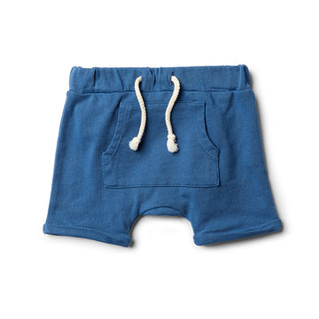 Deep Blue Slouch Short - Wilson and Frenchy