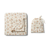 Organic Little Hop Cot Sheet Set - Wilson and Frenchy