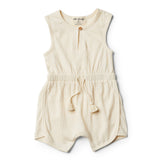 Whisper White Playsuit - Wilson and Frenchy