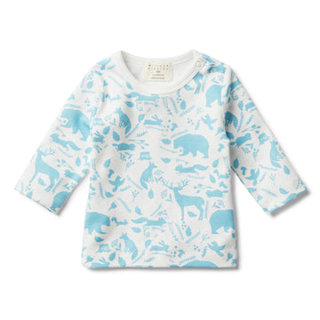 BOYS WILD WOODS LONG SLEEVE TOP - Wilson and Frenchy