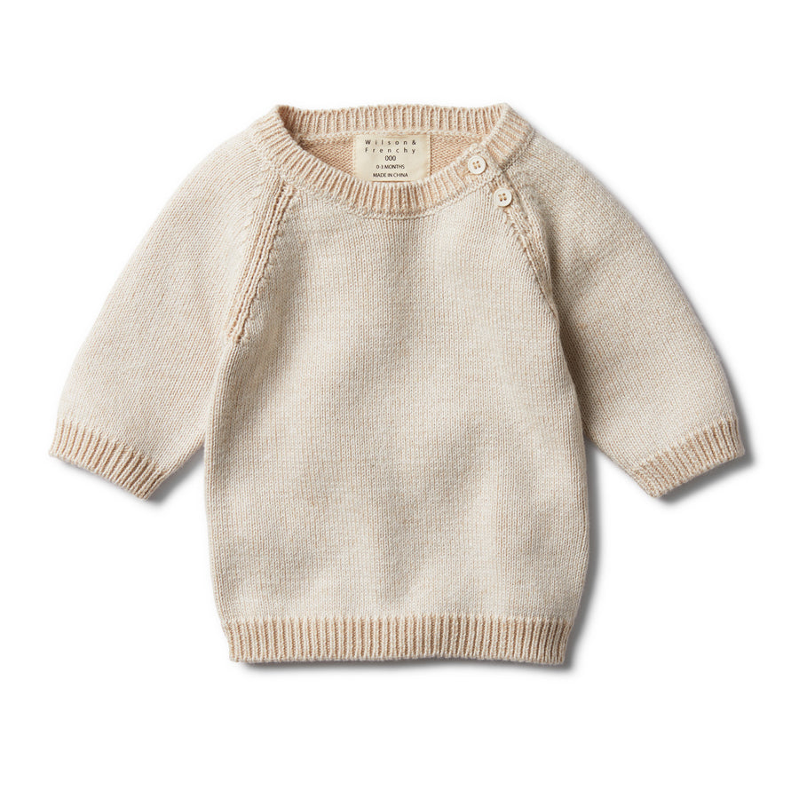 MUSHROOM TWO TONE JUMPER-Wilson and Frenchy