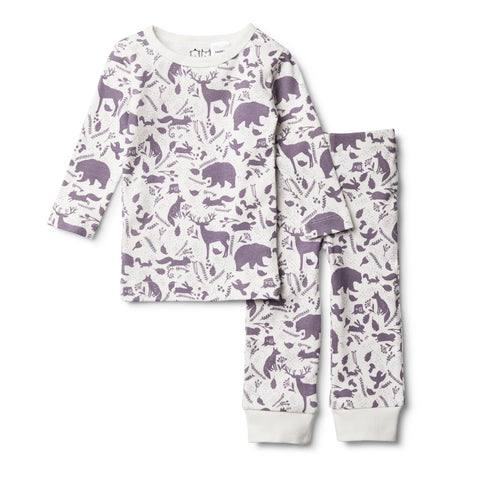 GIRLS WILD WOODS PYJAMA SET - Wilson and Frenchy