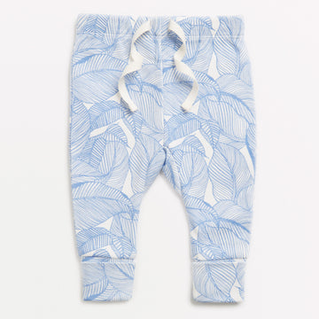 BLUE INTO THE JUNGLE LEGGING-LEGGING-Wilson and Frenchy