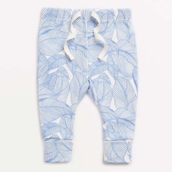 BLUE INTO THE JUNGLE LEGGING - Wilson and Frenchy