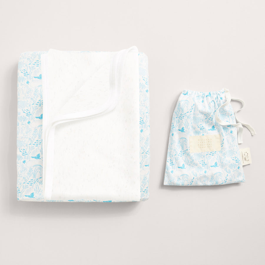 UNDER THE SEA BASSINET SHEET SET - Wilson and Frenchy