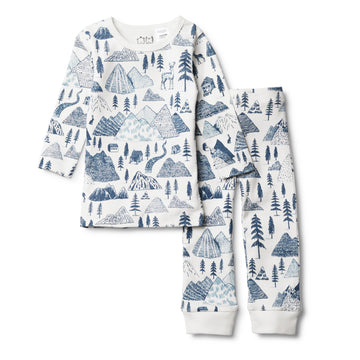 THE HILLS PYJAMA SET-Wilson and Frenchy