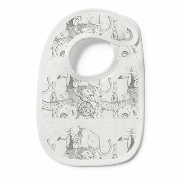 Organic Animalia Bib - Wilson and Frenchy