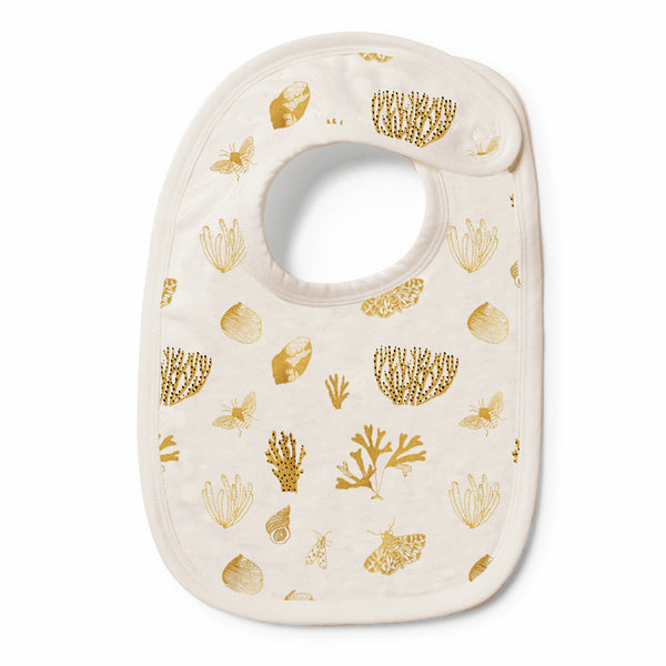 Organic Little Shell Bib - Wilson and Frenchy