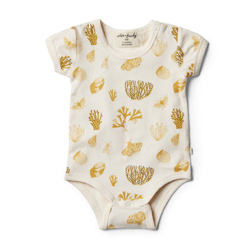 Organic Little Shell Bodysuit - Wilson and Frenchy