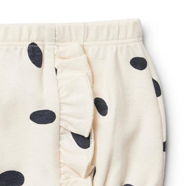 Organic Speckled Spots Nappy Pant