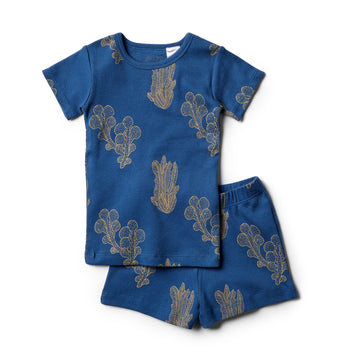 Organic Atlantic Short Sleeve Pyjama Set - Wilson and Frenchy
