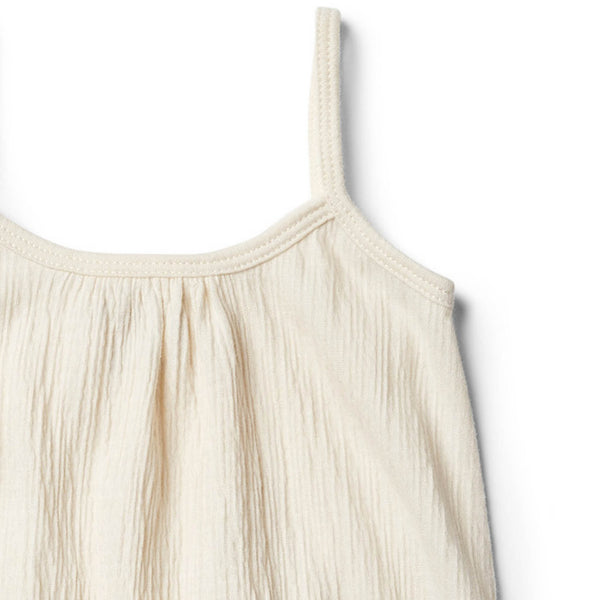Whisper White Singlet Jumpsuit