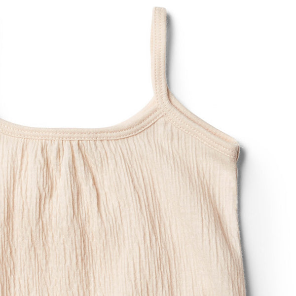 Peach Dust Singlet Jumpsuit