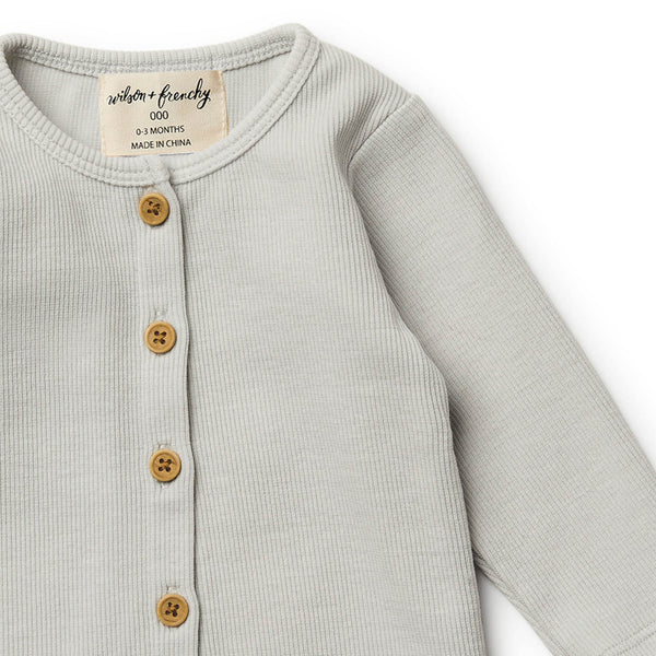Glacier Grey Cardigan
