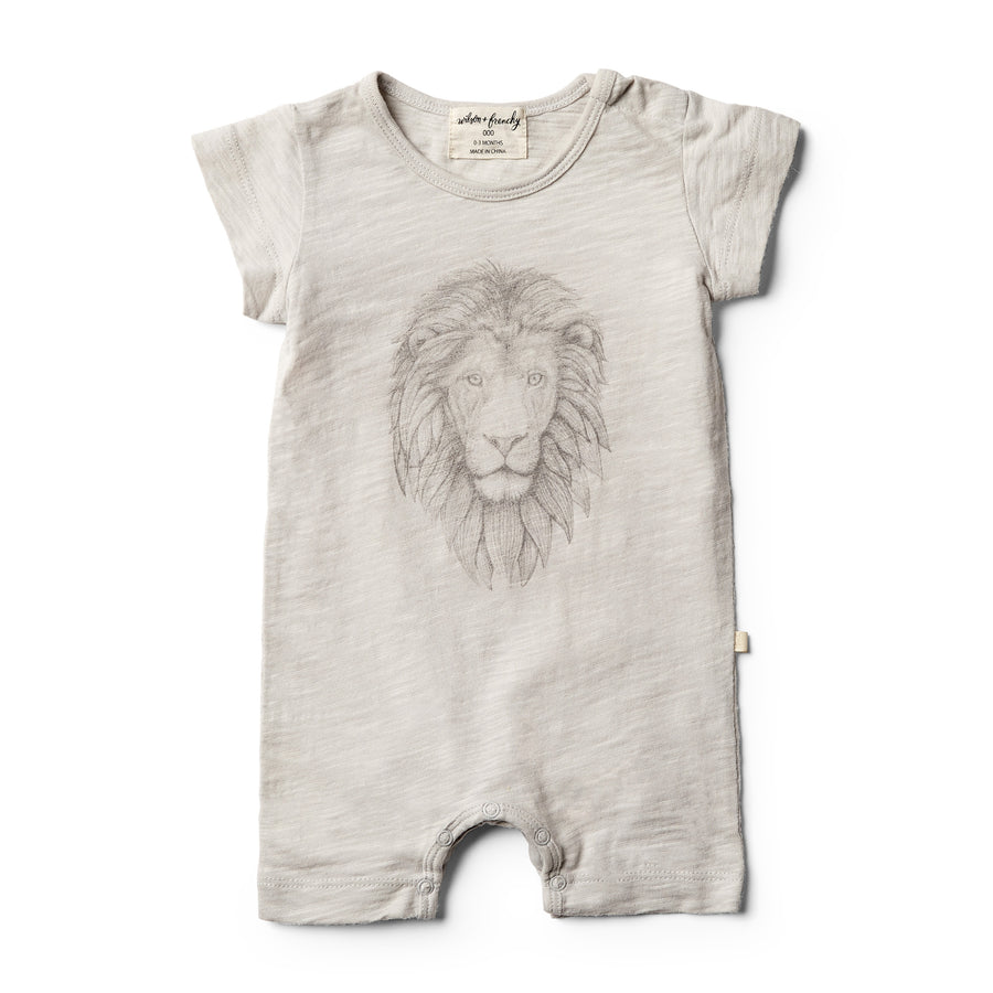 Little Lion Growsuit - Wilson and Frenchy