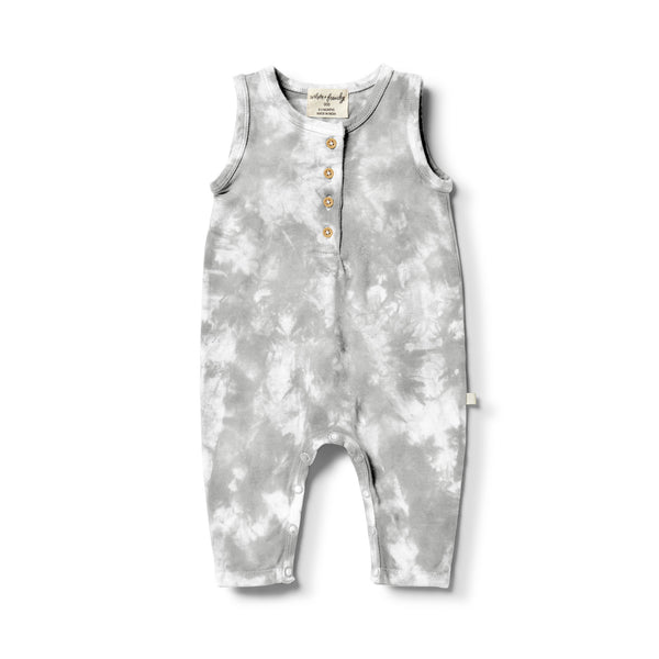 Organic Tie Dye Growsuit