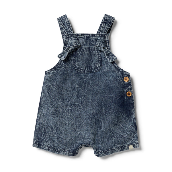 Denim Knotted Overall