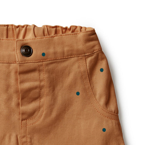Stretch Drill Rolled Shorts