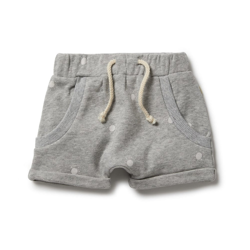 French Terry Slouch Shorts
