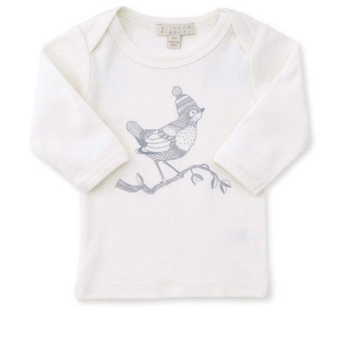 EASY NECK LONG SLEEVE BABY TOP
